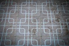 Folk  tiles pattern Stock Photos
