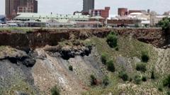 Kimberley Diamond Mine Museum Big hole 2 Stock Footage