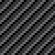 Seamless Carbon Fiber Texture Stock Illustration