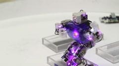 little robot - stock footage