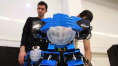 Stock Video Footage of robo dance