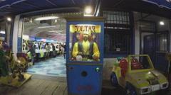 Zoltar Fortune Teller Machine On Santa Monica Pier Stock Footage