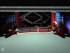 News Studio 006 - 3D model