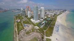 4K Aerial Miami Beach video Stock Footage
