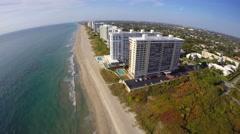 Boca inlet 4k 8 aerial drone video Stock Footage