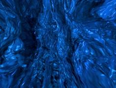 Deep Blue Fluid Background Stock Footage