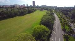 Boat Raton golf course and neighborhood 3 4k Stock Footage