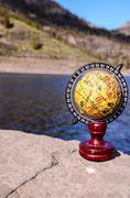 Planet Globe Earth - stock photo