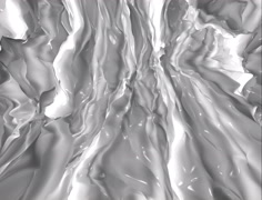 Glossy White Milky Fluid Background Stock Footage
