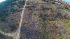 Texas Hills Aerial Footage Stock Footage