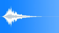 Alert siren outside single howl Sound Effect