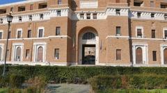 Tribunale di Sorveglianza. (supervisory review court) Rome, Italy Stock Footage