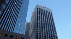 Us Bank Building in San Francisco Stock Footage