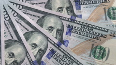 Cash Payment Stock Footage