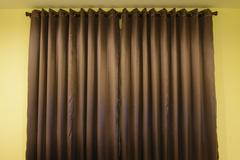 Details of curtain - stock photo