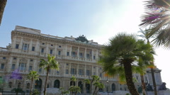 Palace of Justice. Rome, Italy  Stock Footage