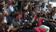 Photographers press pack 2 Stock Footage
