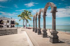 Main Plaza Puerto Vallarta - stock photo