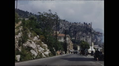Approaching Monaco by Car Stock Footage
