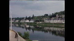 Avignon on the Rhone River 1957 Stock Footage