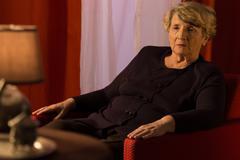 Lonely depressed retiree - stock photo