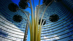 TL 4K Milan Milano Modern architecture office Porta Nuovo Unicredit Tower Stock Footage
