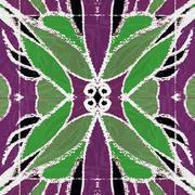Stock Illustration of Decorative Floral Motif Pattern Background