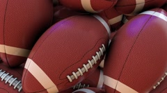 Football Looping Background - stock footage