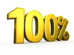 One hundred nine percent symbol on white background Stock Illustration