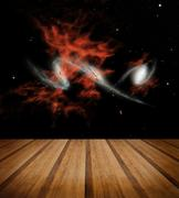 Space galaxy nature background. Elements of this image furnished by NASA Stock Photos