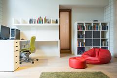 Stock Photo of Stylish accommodation of room