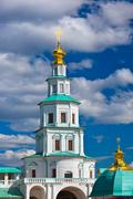 Tower in New Jerusalem monastery - Istra Russia Stock Photos