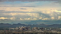 Downtown Phoenix Arizona – Skyline and Landscape Timelapse 3 Arkistovideo