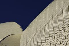 Sydney Opera House Close Up Stock Photos