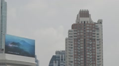 Road Traffic and Condominium in Watergate District Stock Footage