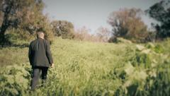 Coporate man on journey - 3 shots Stock Footage