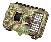Infra Red Wildlife Trail Camera - stock photo