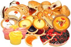 Cake And Pastry Assortment Stock Photos