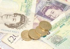 Cash Background - stock photo