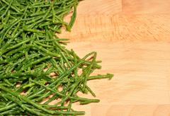 Stock Photo of Fresh Marsh Samphire