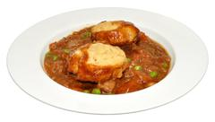 Beef Casserole And Dumplings - stock photo