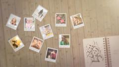 Polaroid photos memories Stock After Effects