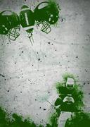 American football background Stock Illustration