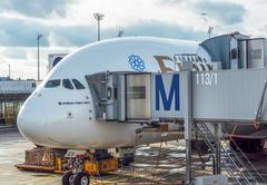 Airbus A380 Stock Photos