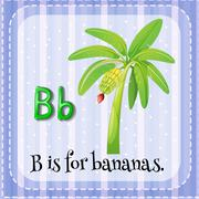 Letter B Stock Illustration