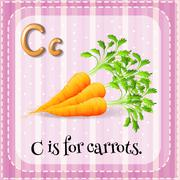 Letter C Stock Illustration