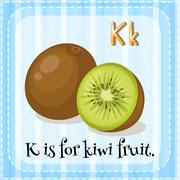 Alphabet K Stock Illustration