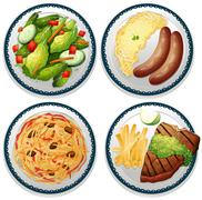 Meal Stock Illustration