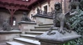 4k Stone sculptures Wernigerode medieval castle Harz mountains 4k or 4k+ Resolution