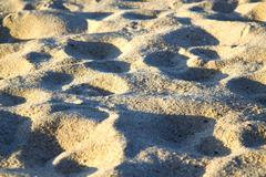 Texture   footstep  in kho samui    stone abstract Stock Photos